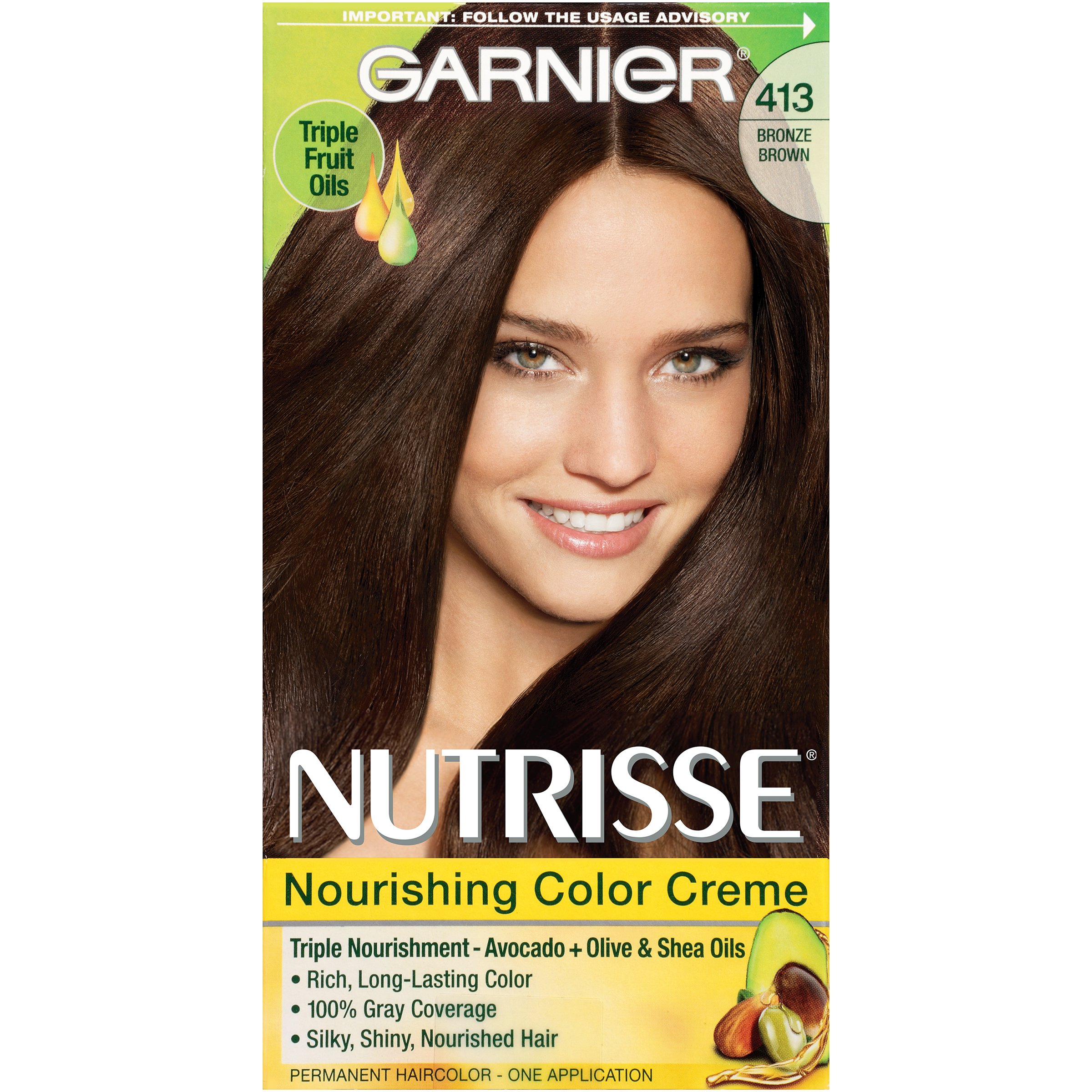 Amazon.com: Garnier Nutrisse Nourishing Hair Color Creme ...