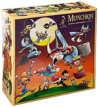 Steve Jackson Games sjg05594 - Juego de Cartas Munchkin ...