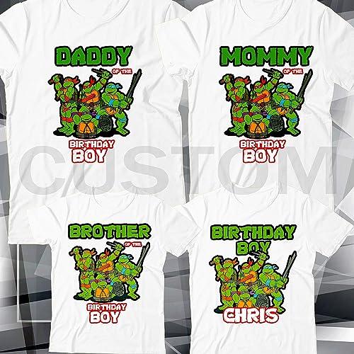 3e5ebbd38977b Amazon.com: Personalized Custom Teenage Mutant Ninja Turtles TMNT ...