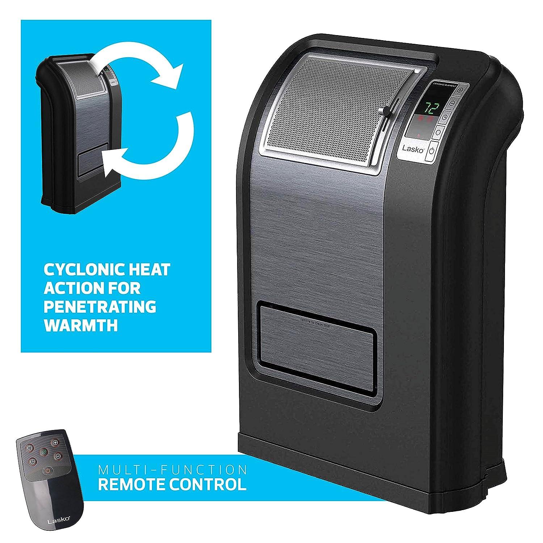 Amazon.com: Lasko Cyclonic Digital Ceramic 1500 Watts Heater, Save ...