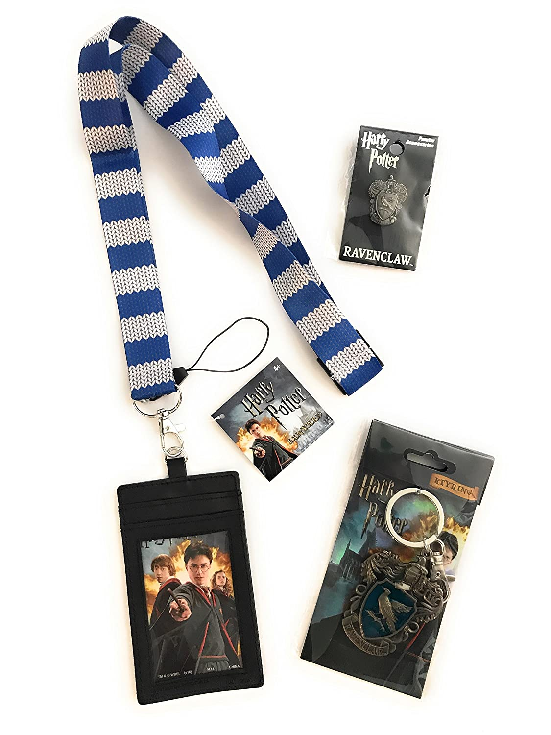 Harry Potter Bundle- Ravenclaw - Cordón con múltiples ...