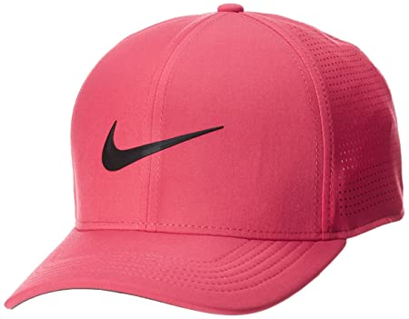 eb76fc979 NIKE AeroBill Classic 99 Performance Golf Cap 2018 Tropical  Pink/Anthracite/Black Large/X-Large