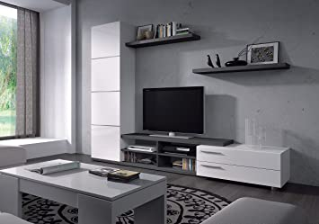 HABITMOBEL Mueble de salón Comedor Moderno, Medidas: 180 X 240 X 41 ...