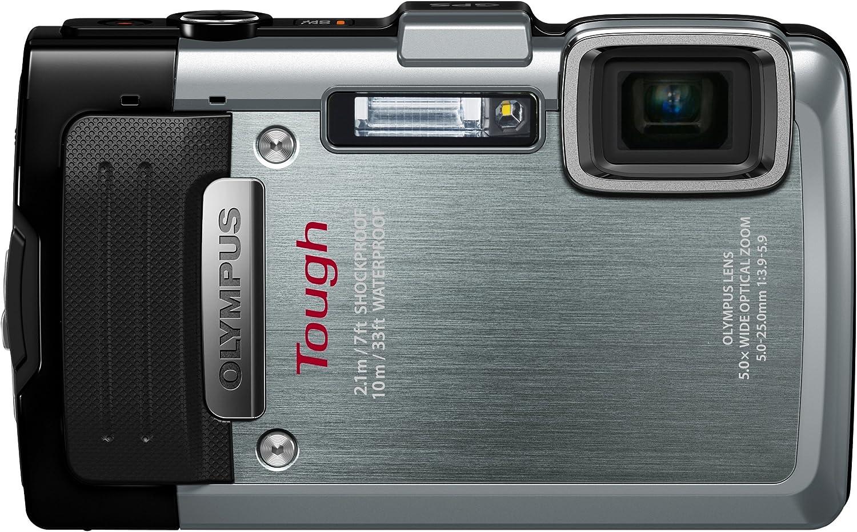 Olympus Tg 830 Digitalkamera 3 Zoll Silber Kamera