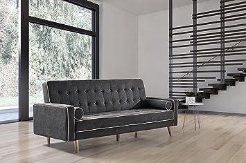 Cambia Tus Muebles - Sofa Cama Oslo Gris Marengo