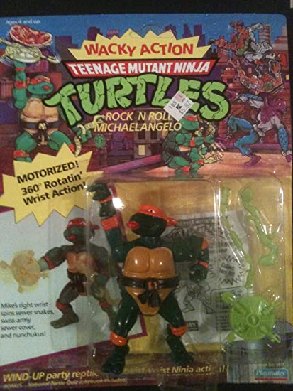 Amazon.com: Teenage Mutant Ninja Turtles Rock N Roll ...
