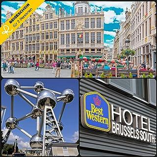 Schein–Deux 4jours de 3* Best Western Hotel Brussels South dans la ville–Carte kurzreise kurzurlaub Cadeau Voyage Reiseschein