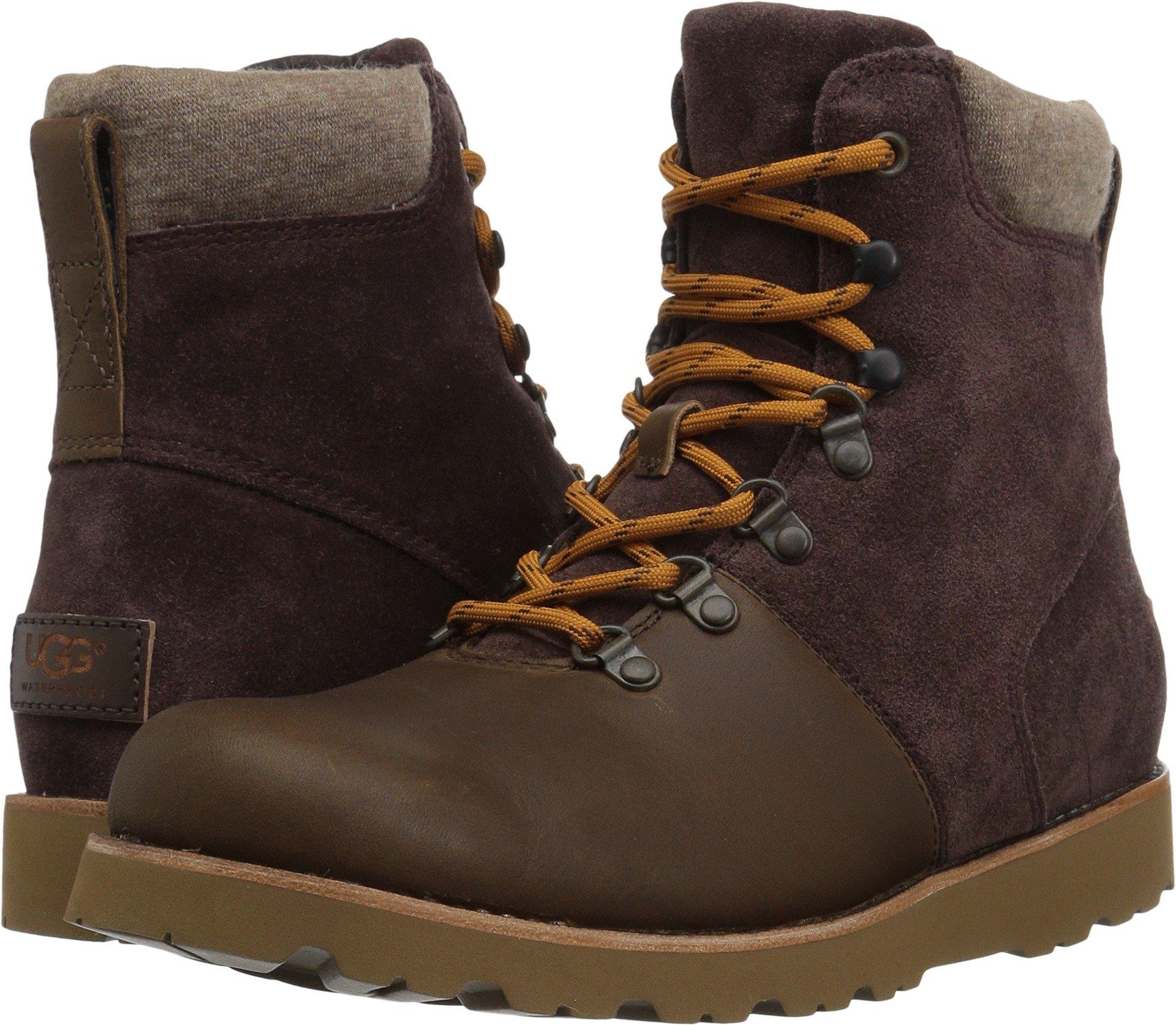 UGG Men's Halfdan Winter Boot, Grizzly, 11 M US