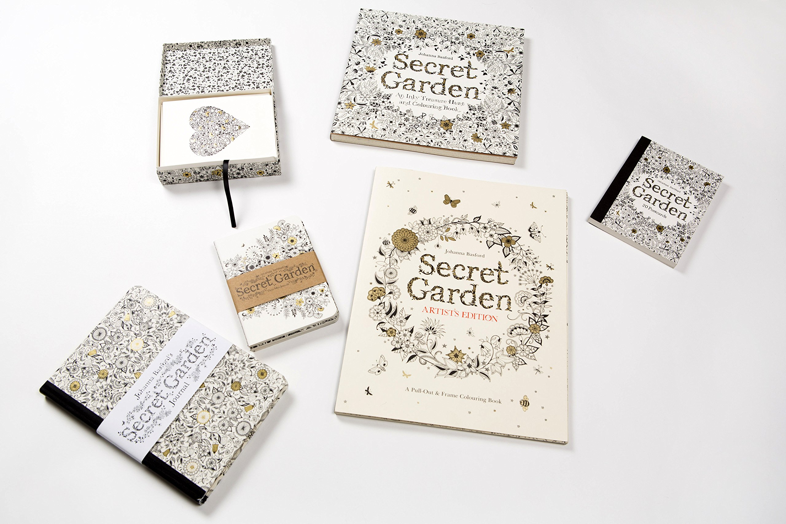 Secret Garden Artists Edition A Pull Out And Frame Colouring Book Amazoncouk Johanna Basford 9781780677309 Books