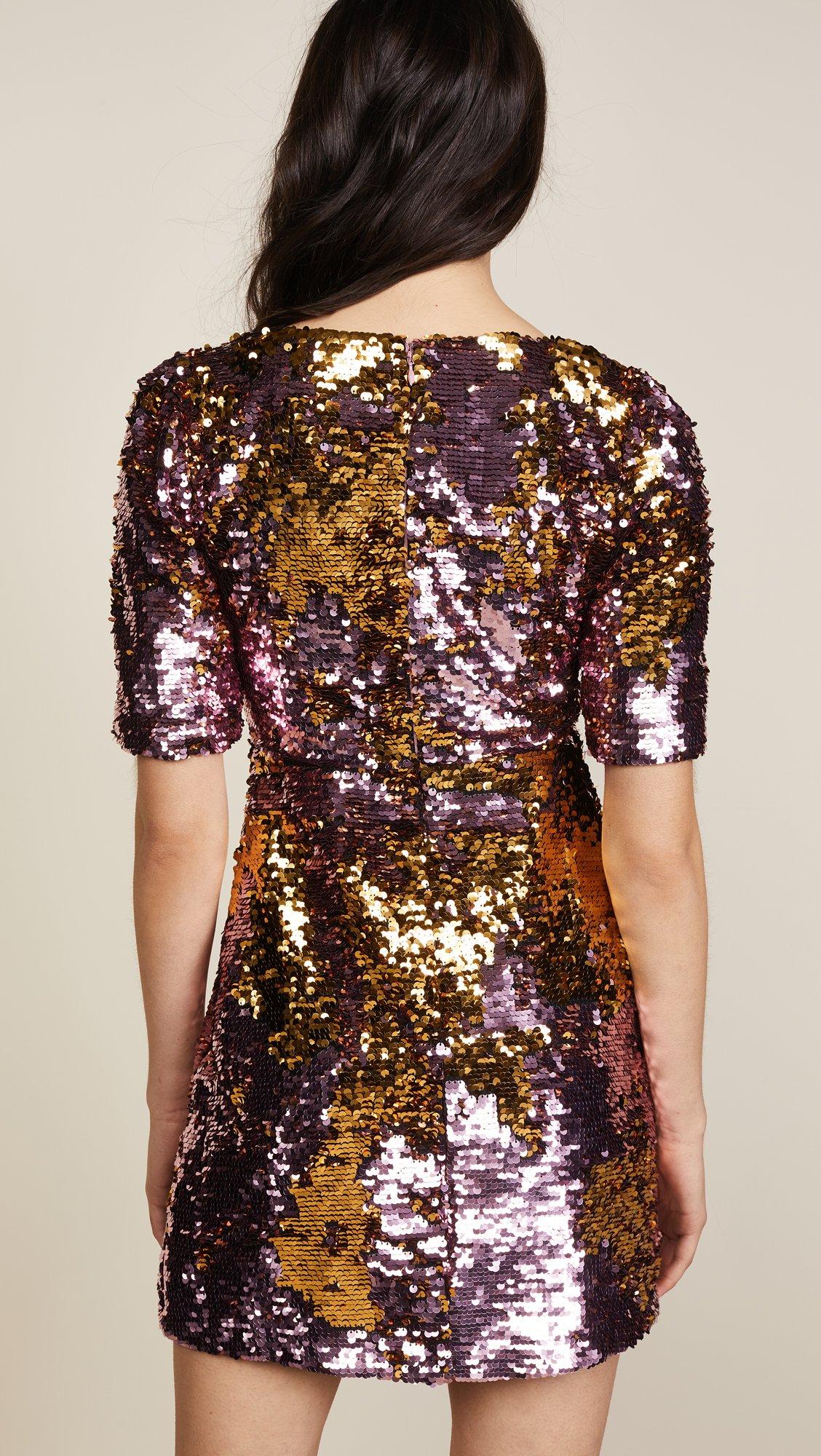For Love & Lemons Women's Sparklers Party Dress, Dusty Rose, Medium by For Love & Lemons (Image #3)