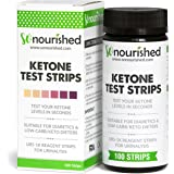 Urine Ketone Strips with FREE 14-DAY MEAL PLAN eBook - Ketosis Strips & Diabetic Test Strips. Ketosis Test with Keto Strips Kit Takes Only 15 Seconds! 100 Keto Sticks.