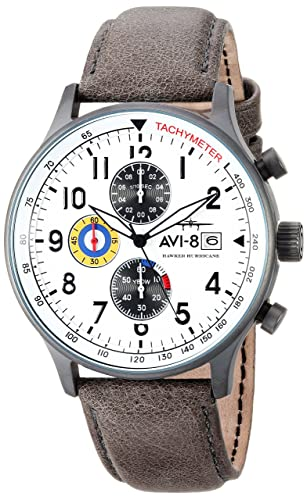 AVI-8 Reloj analógico para Hombre de Cuarzo japonés AV-4011-0B: Amazon.es: Relojes