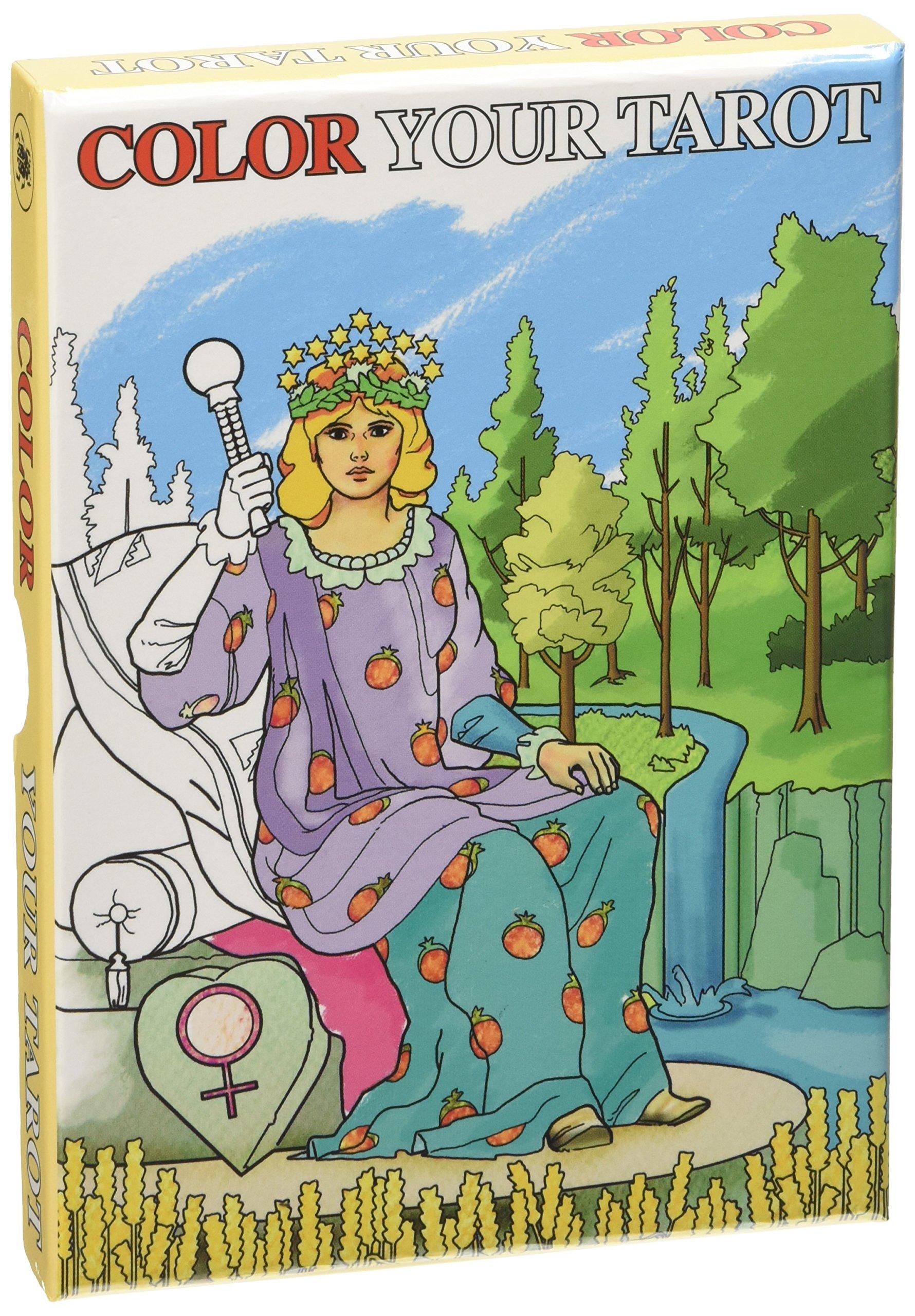 Read Online Color Your Tarot Grand Trumps pdf epub