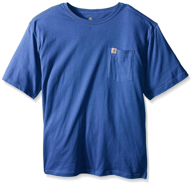 Carhartt SHIRT メンズ B016QL78NS 5L|Tidal Blue Heather Tidal Blue Heather 5L