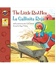The Little Red Hen: La Gallinita Roja - Bilingual English and Spanish Children's Fairy Tale Keepsake Stories, Pre K - 3