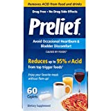 Prelief Acid Reducer Caplets 60 Count Dietary Supplement to reduce up to 95% of the acid in High-Acid Food and Beverages