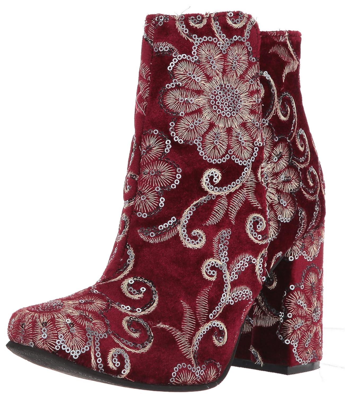 Naughty Monkey Women's Scarlett Ankle Boot B075FTM8SW 5 B(M) US Burgundy