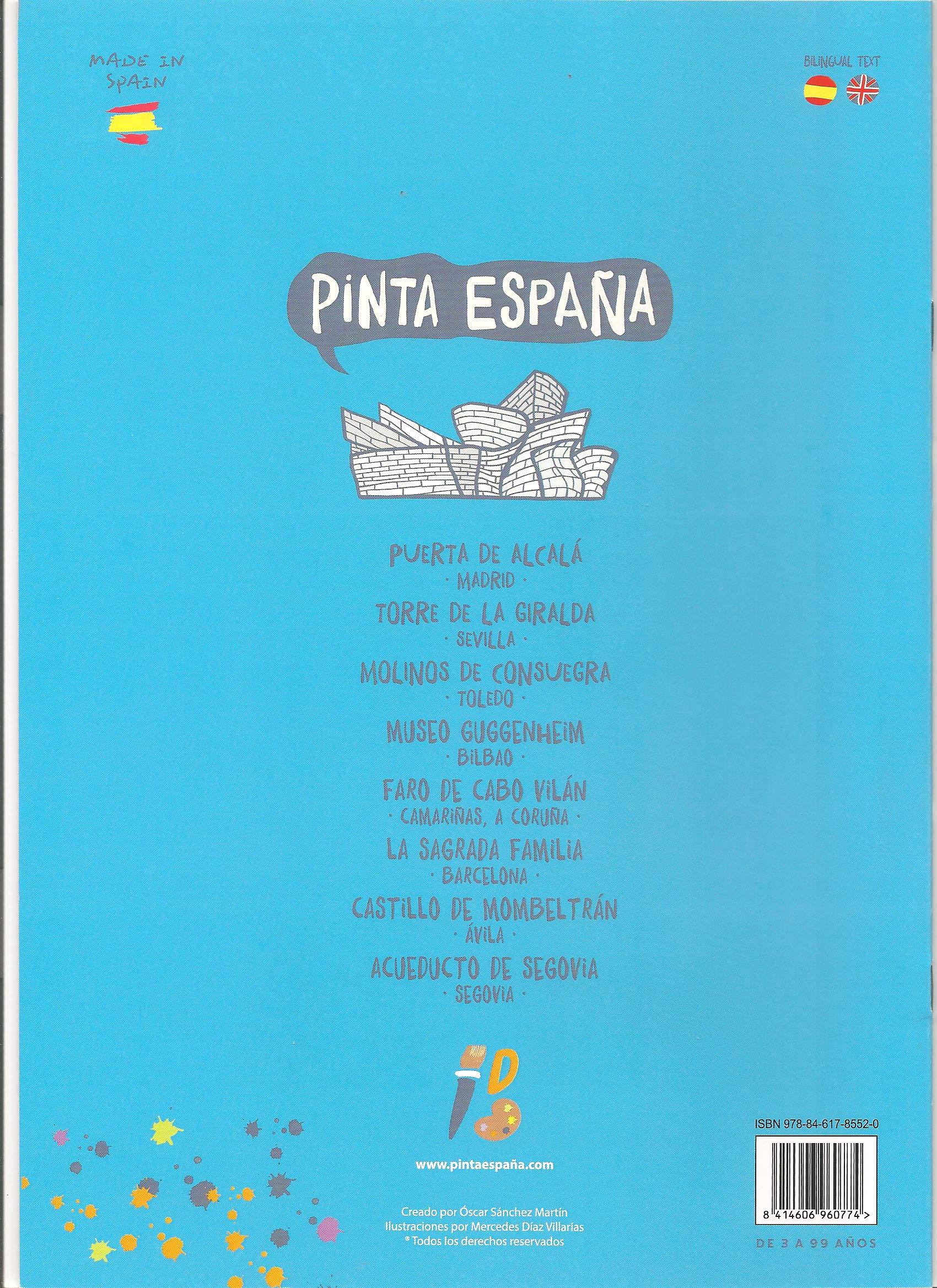 Pinta España: Amazon.es: Oscar Sanchez Martin, Mercedes diaz Villarías: Libros
