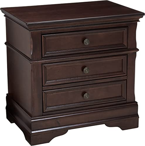 Coaster Home Furnishings Traditional Nightstand, Cappuccino