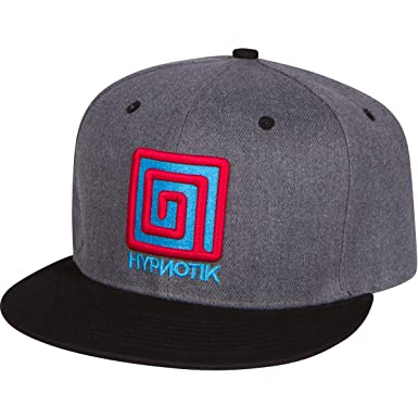 9ad80781deb Hypnotik Icon Snapback Hat - Charcoal Heather at Amazon Men s Clothing  store