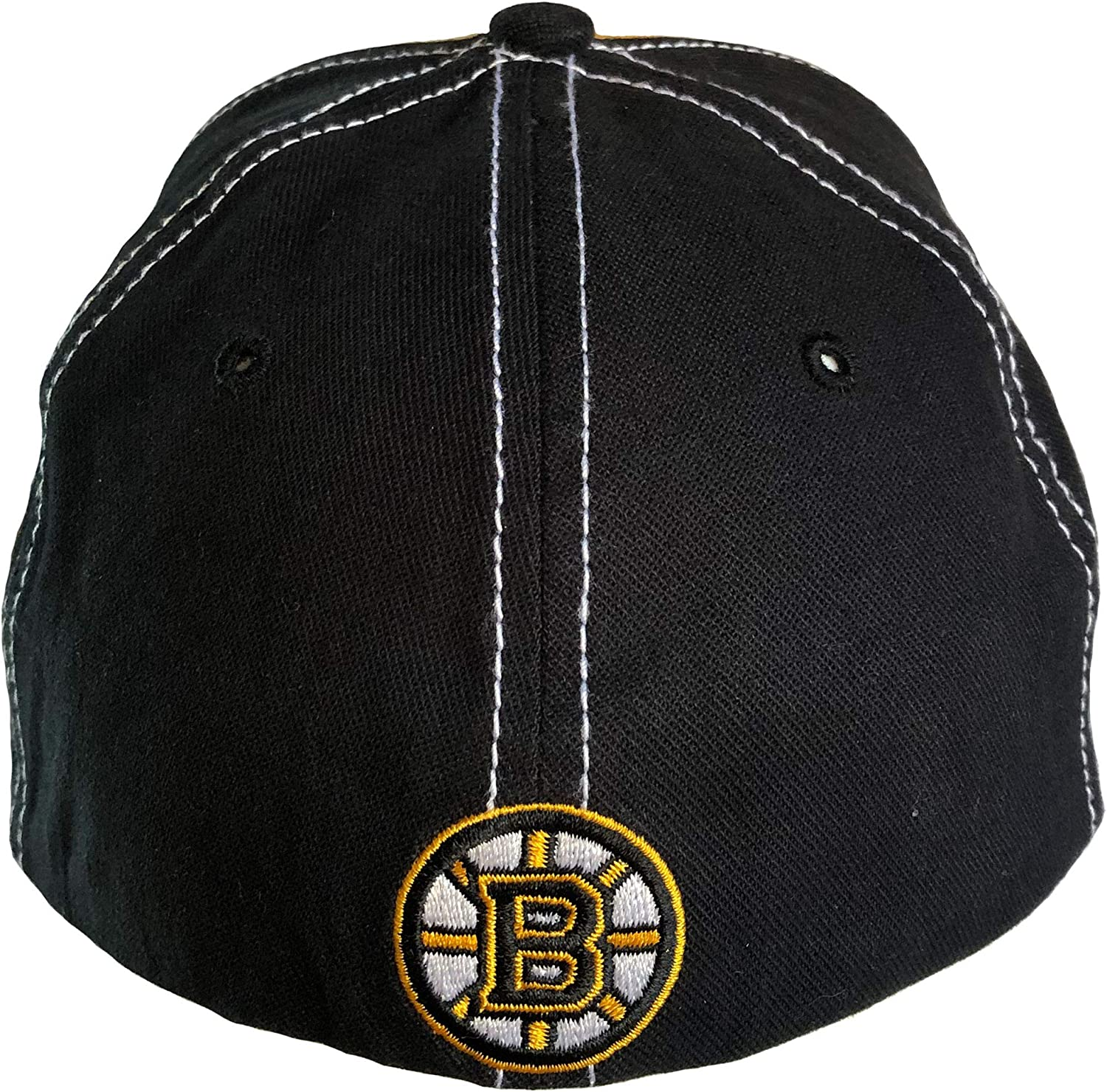 One Size Youth Boston Bruins Youth Sniper Stretch Fit Hat