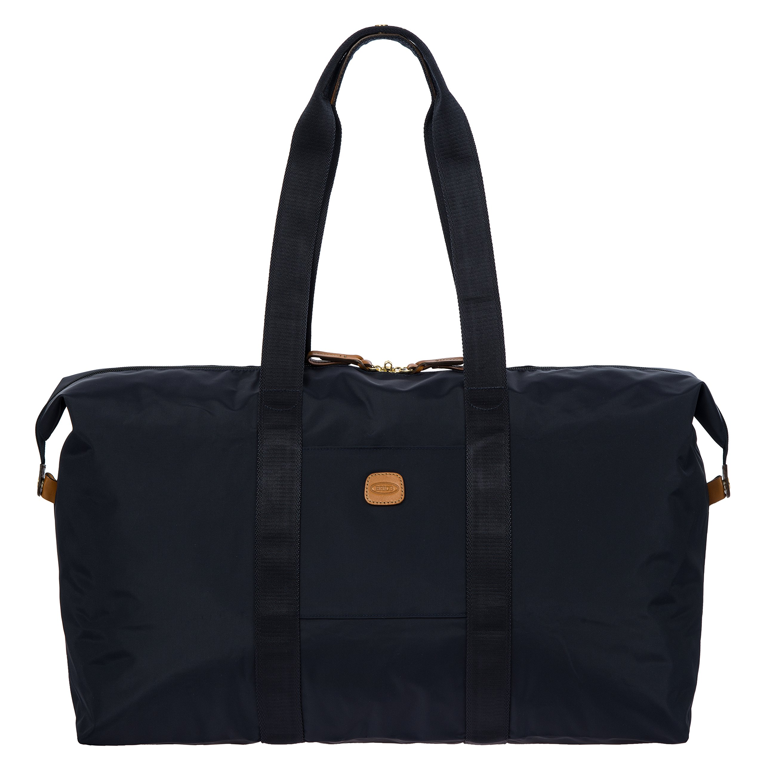 Bric's X x-Travel 2.0 22 inch Cargo Overnight/Weekender Folding Duffle Duffel Bag, Navy, One Size by Bric's