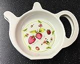 Strawberry & Fruit Melamine Teabag Tea Bag Holder