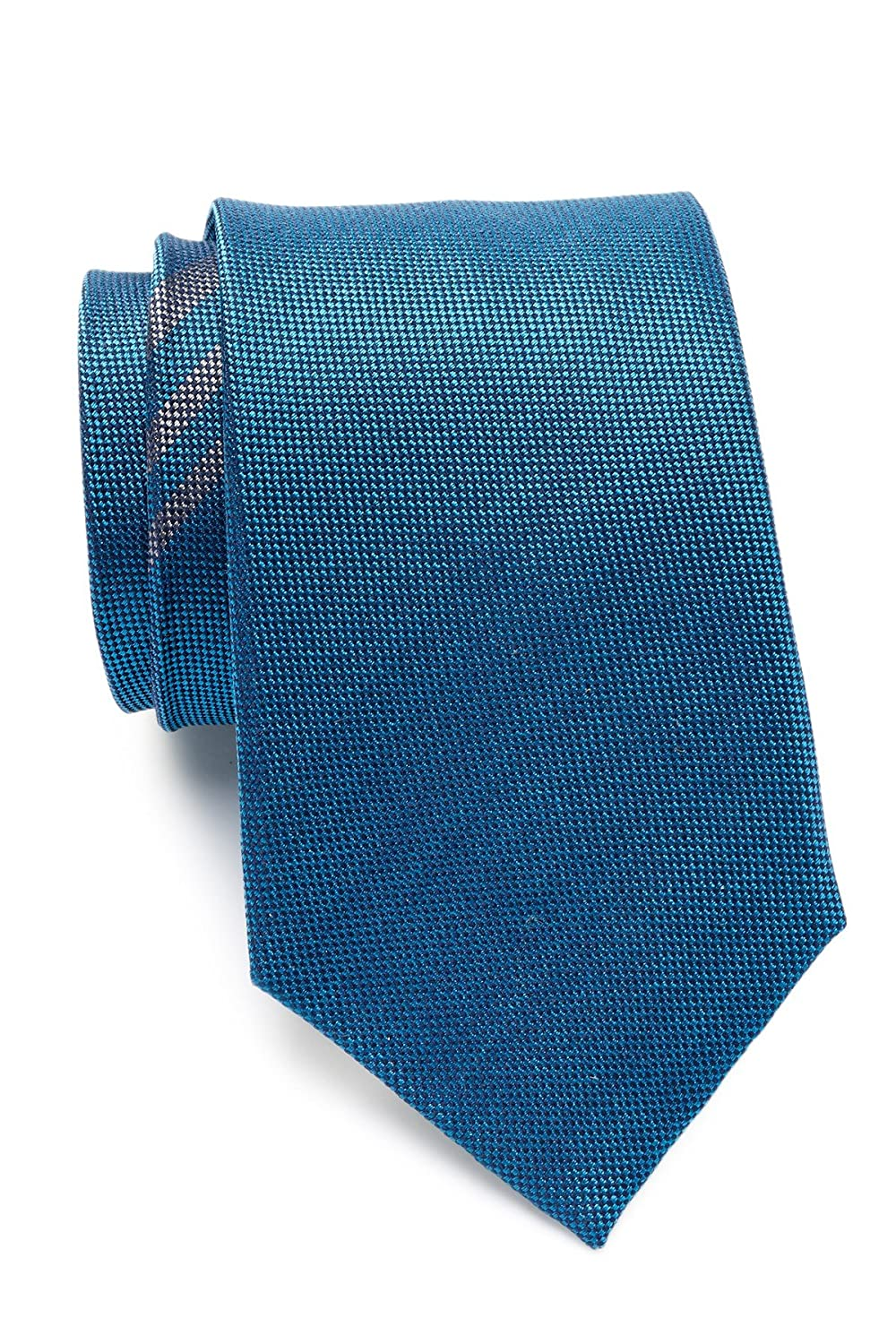 OS Ben Sherman Mens Plaid Silk Tie