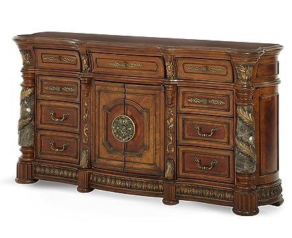 Amazon.com: Michael Amini Villa Valencia Dresser, Classic ...