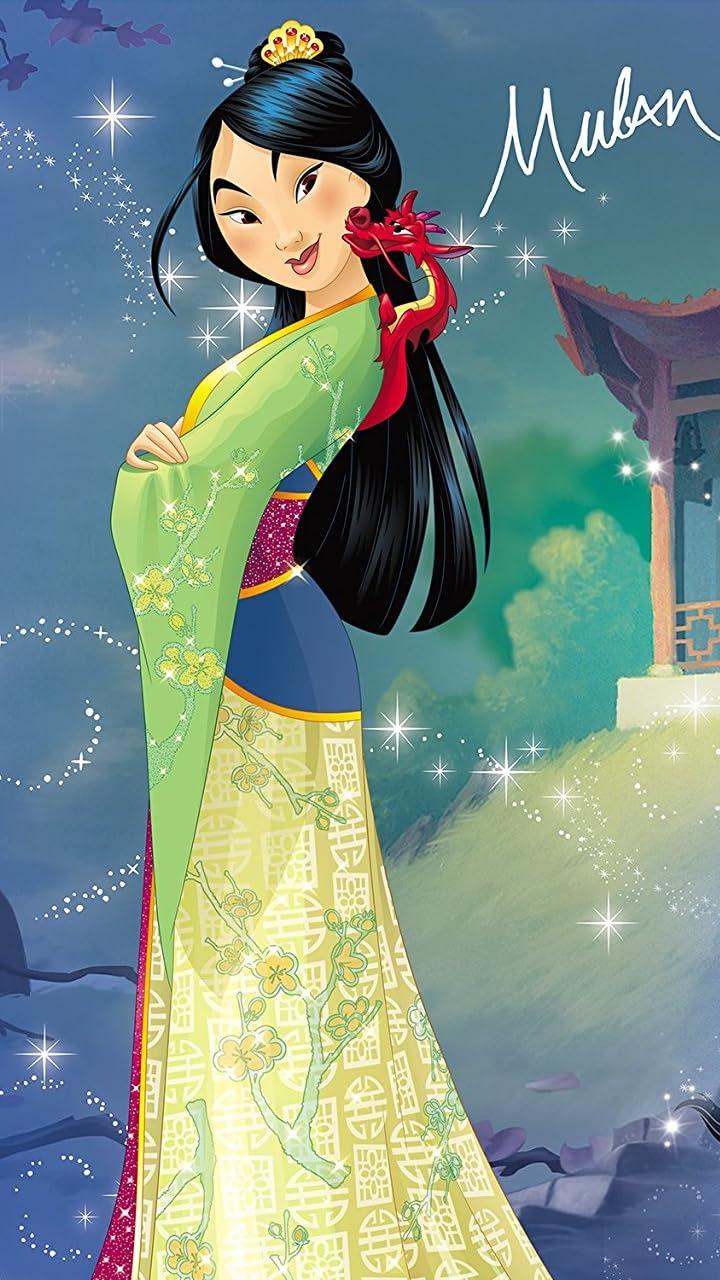 ディズニー 『ムーラン』ファ・ムーラン(花木蘭) HD(720×1280)壁紙画像