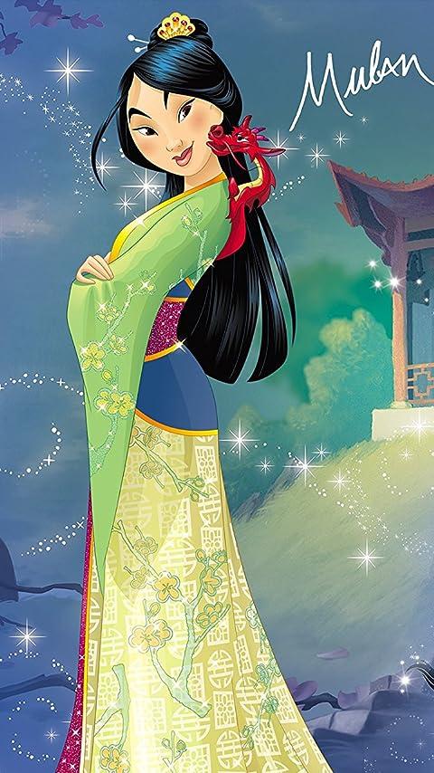 ディズニー 『ムーラン』ファ・ムーラン(花木蘭) XFVGA(480×854)壁紙画像