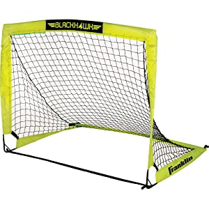 Franklin Sports Blackhawk Portable Soccer Goal – Pop-Up Soccer Goal – Portable Soccer Net – Available in Multiple Sizes