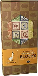product image for Uncle Goose Swedish Abc Blocks Set