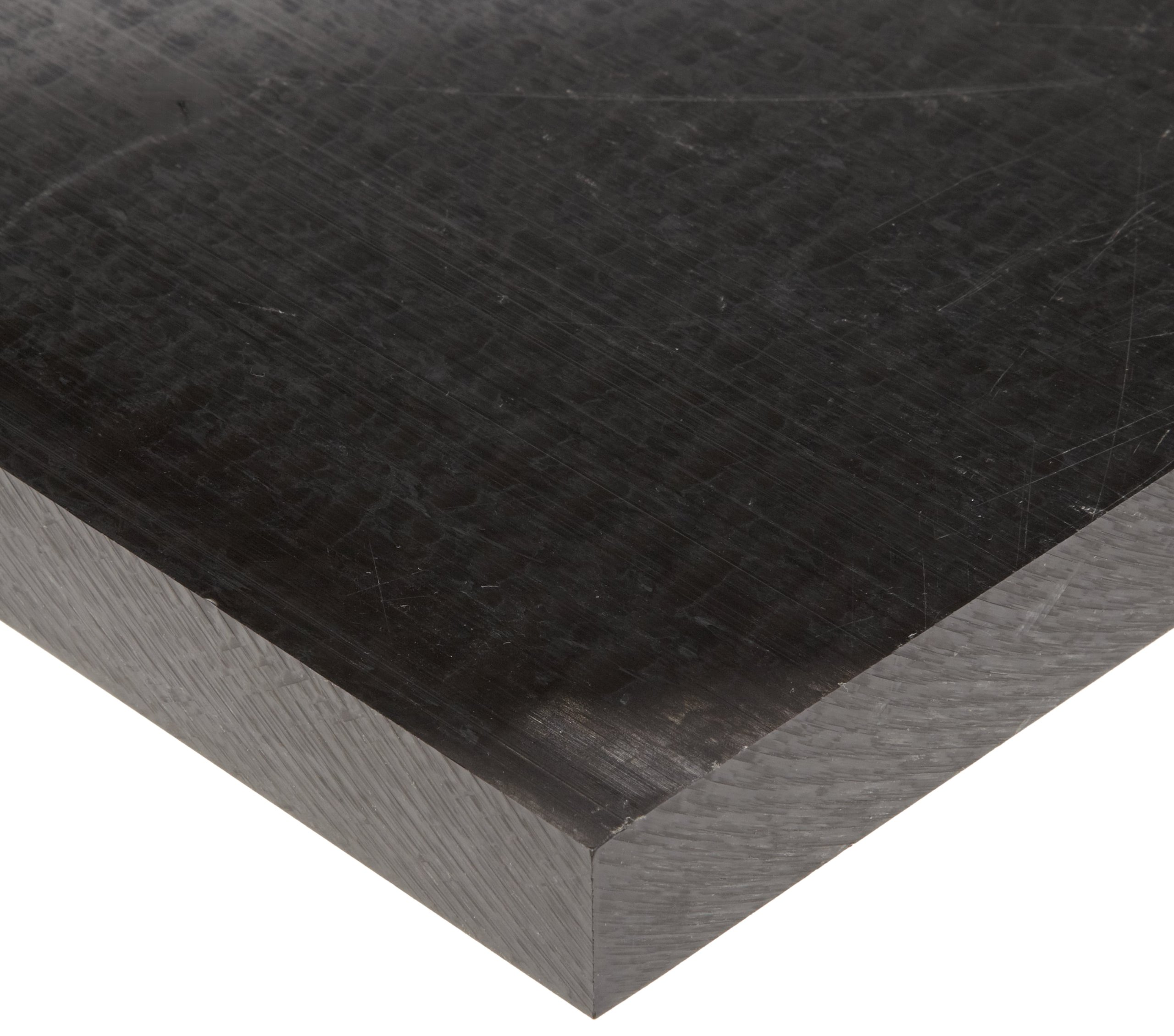 Acetal Copolymer Sheet, Opaque Black, Standard Tolerance, ASTM D6100/UL 94HB, 0.125'' Thickness, 12'' Width, 12'' Length