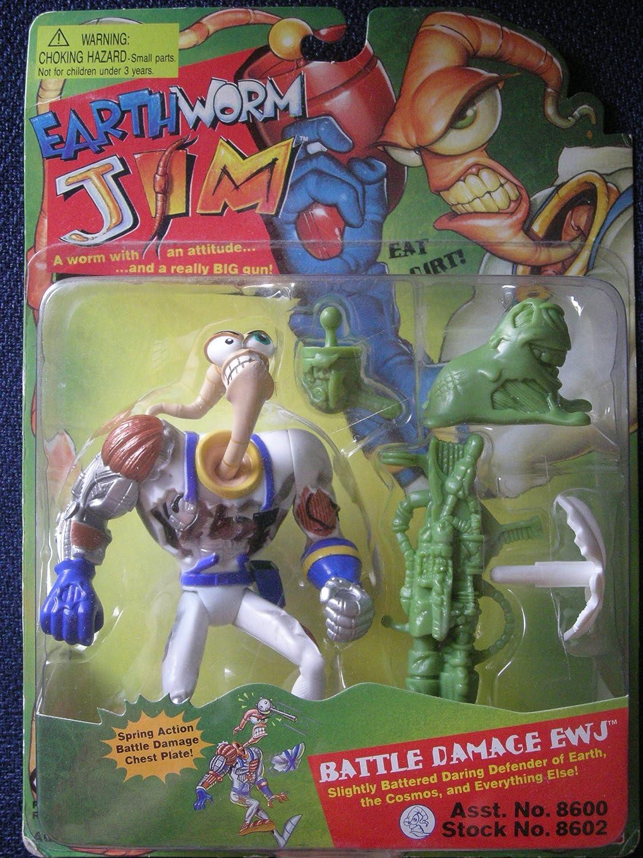 Reducción de precio Earthworm Jim - Battle Damage EWJ by Earthworm Jim
