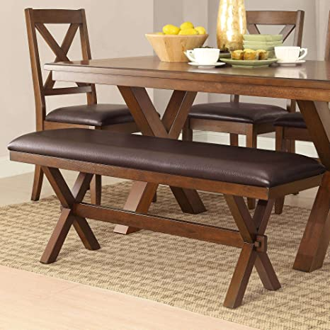 Fine Amazon Com Excellent Dining Bench Espresso Complements Ocoug Best Dining Table And Chair Ideas Images Ocougorg