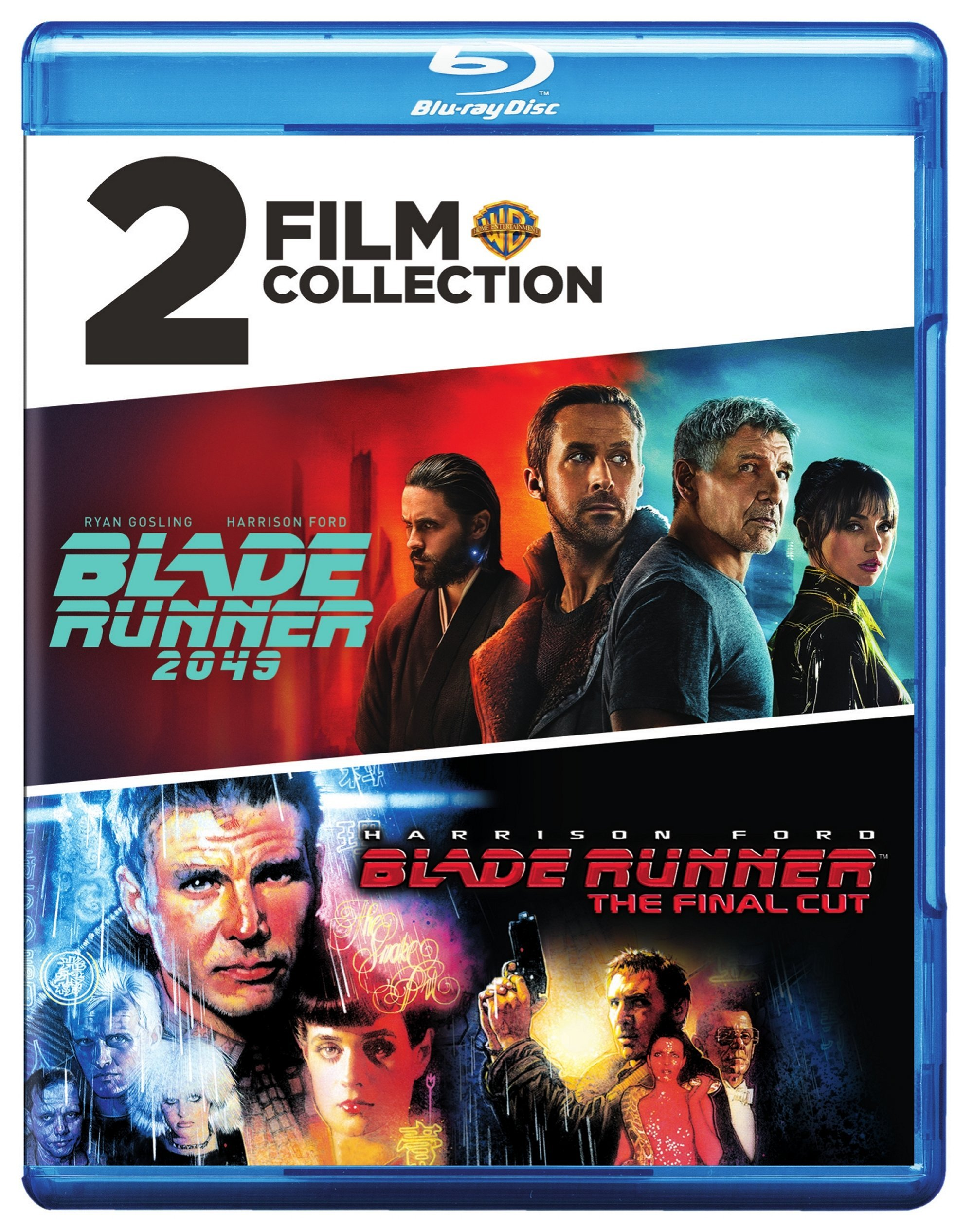 Blu-ray : 2 Film Collection: Blade Runner: The Final Cut / Blade Runner 2049 (2 Pack, 2PC)