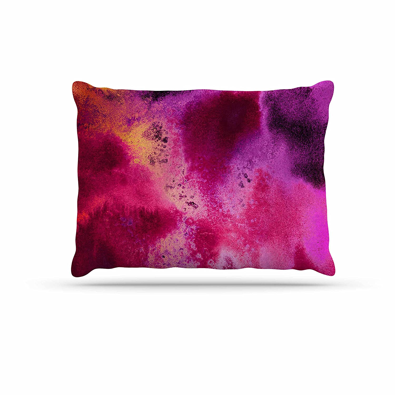 KESS InHouse Nina May pinkwater Sun Pink Purple Dog Bed, 30  x 40