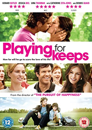 Playing For Keeps 2012 BluRay 720p 750MB Dual Audio ( Hindi – English ) ESubs MKV