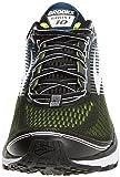 3255ed49c7d Brooks Men s Ghost 10 Black White Nightlife Nylon Running Shoes 9.5 (D) M US