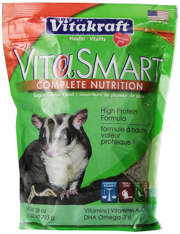 Vitrakraft Vita Smart Sugar Glider Food 28oz Vitakraft Pet Products 34516