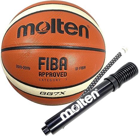 Molten GG7 X cuero compuesto de baloncesto (BGG7 X) aprobado ...