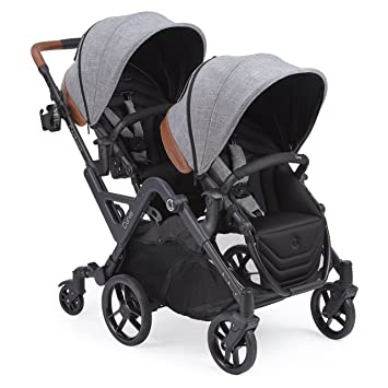 Contours Curve Tandem Double Stroller For Infants Toddlers Or Twins 360 Turning Multiple Seating
