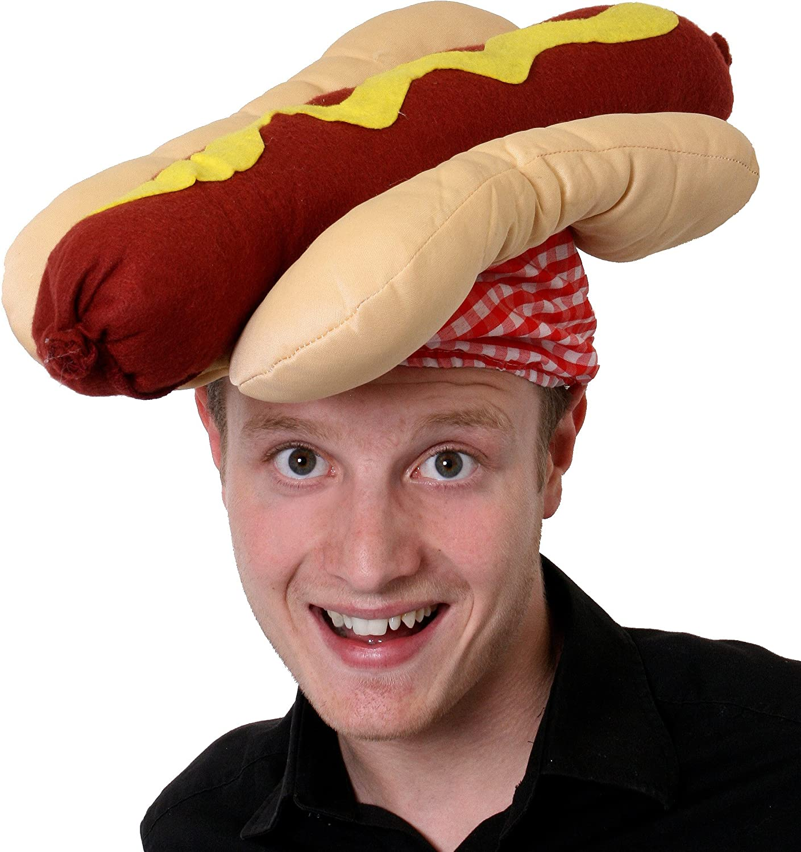 I LOVE FANCY DRESS LTD Burger Chapeau D/ÉGUISER LACCESSOIRE Chapeau Fantaisie Nourriture Couvre-Chefs Cheeseburger