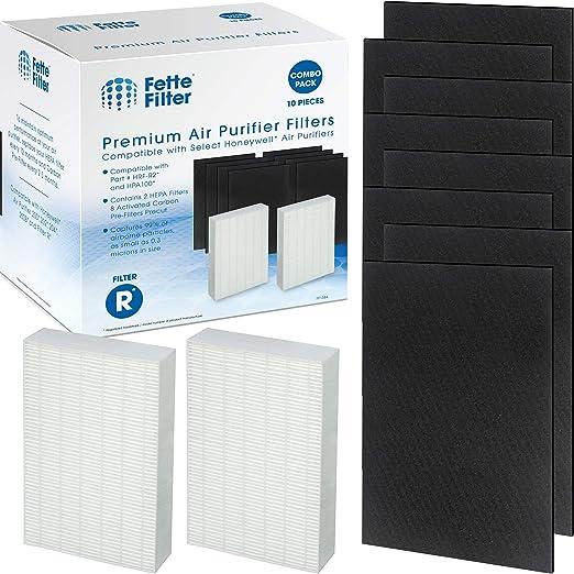 Fette Filter - 2 filtros HEPA de Repuesto Que Incluyen 8 filtros ...
