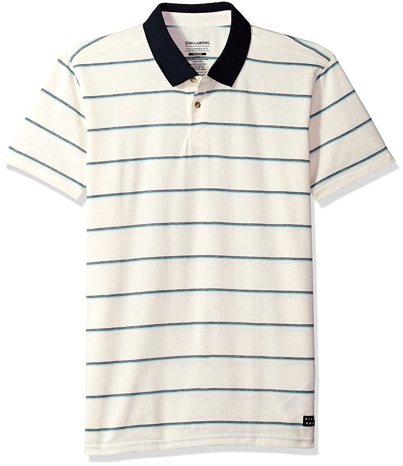 Billabong Mens Die Cut Polo, Salt, 2XL: Amazon.es: Ropa y accesorios