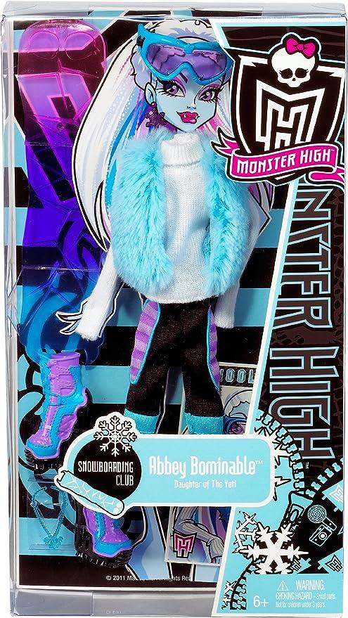 Amazon.es: Monster High W8695 - Vestidos para Abbey Abominable (no Incluye muñeca): Juguetes y juegos