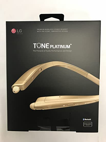 b31da06ae7d Amazon.com: LG Tone Platinum HBS-1100 - Premium Wireless Stereo Headset -  Gold: Cell Phones & Accessories