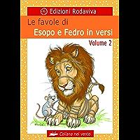 Le favole di Esopo e Fedro in versi - Volume 2 (Nel vento) (Italian Edition) book cover