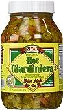 Ziyad Giardiniera Mediterranean Peppers Mix, Hot, 32 Ounce